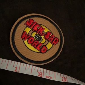 DARIA SICK SAD WORLD JEAN JACKET PATCH
